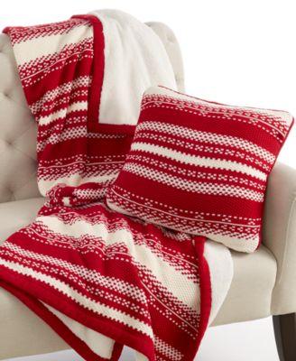 CLOSEOUT! Martha Stewart Collection Bedding, Fair Isle Sweater ...
