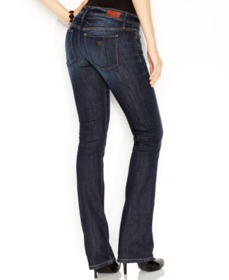 Guess low rise bootcut jeans dickens wash