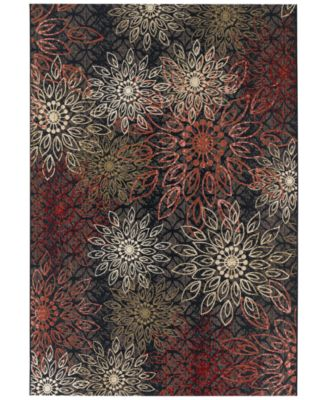 "Couristan Indoor/Outdoor Area Rug, Dolce 4039/0760 Amalfi Multi 5'3"" x 7'6"""