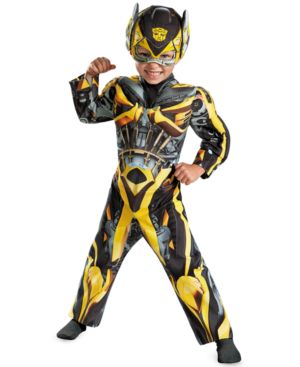 Image of Disguise Little Boys' Bumblebee Muscle Costume