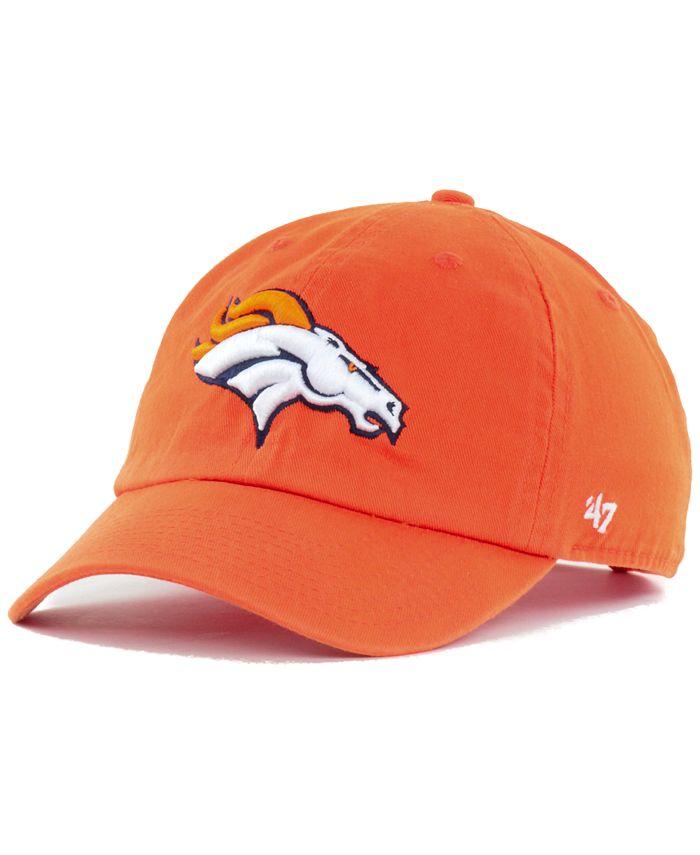 '47 Brand - Denver Broncos Clean Up Cap