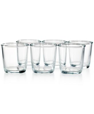 Martha Stewart Collection Everyday Entertaining Set of 6 Double Old Fashioned Glasses
