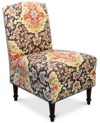 Jla Charlotte Fabric Accent Chair Direct Ships For Just