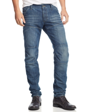 G-Star Raw Men's 5620 Low-Rise Tapered Slim Fit Jeans