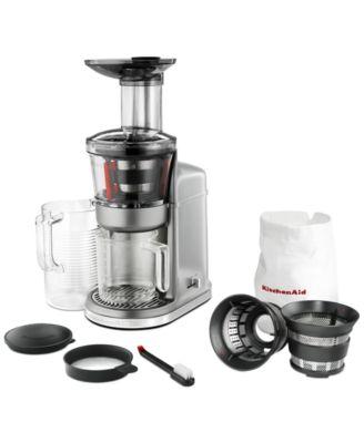KitchenAid KVJ0111 Maximum Extraction Slow Juicer