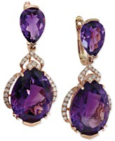 d2020f5f6 Lavender Rose by EFFY Amethyst 19 3 8 ct tw and Diamond 3 8 ct tw ...