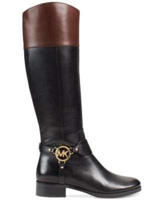 MICHAEL Michael Kors Fulton Harness Boots - Boots - Shoes - Macy's