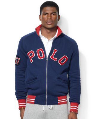 Polo Ralph Lauren Fleece Track Jacket