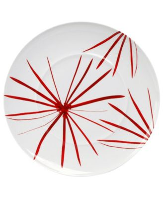 Mikasa Dinnerware, Pure Red Star Round Platter
