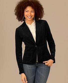 Style&co Petites Western Corduroy Jacket