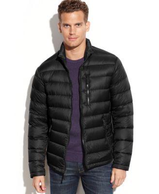 Calvin Klein Packable Down Jacket - Coats & Jackets - Men - Macy's