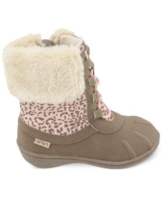 Carter's Little Girls' or Toddler Girls' Winter Boots - Kids - Macy's