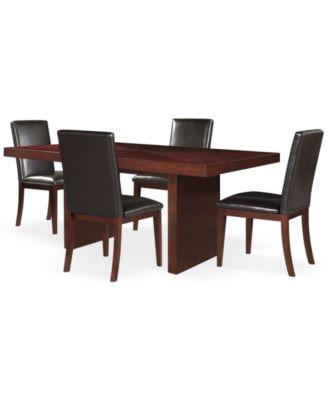 Pc Bari Dining Room Table Set