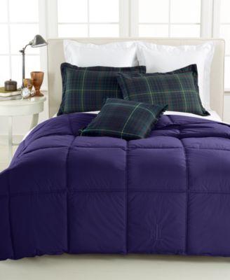 lauren ralph lauren color down alternative king comforter