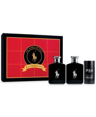Ralph Lauren Polo Double Black Gift Set - Shop All Brands - Beauty ...