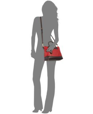 8c9541cacae8 Tignanello Smooth Operator Leather Convertible Satchel Handbags on PopScreen