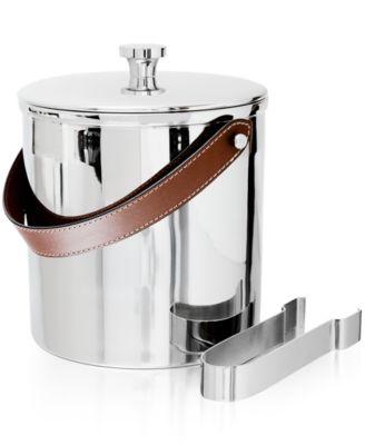 Ralph Lauren Preston Ice Bucket with Tongs