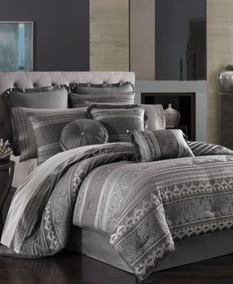 J Queen New York Amalfi California King Comforter Set. J Queen New York Amalfi California King Comforter Set   Bedding