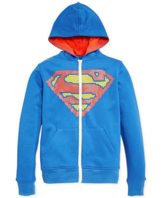 Superman Boys Full Zip Hoodie