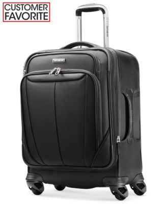 "Samsonite Silhouette Sphere 21"" Widebody Carry On Expandable Spinner Suitcase"