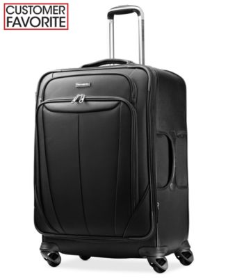 "Samsonite Silhouette Sphere 25"" Expandable Spinner Suitcase"