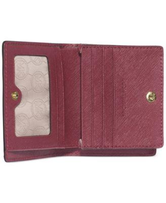5a976fac2fc1 michael kors jet set travel saffiano leather card holder york slingback gold