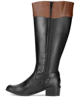 Karen Scott Women's Darlaa Wide Calf Riding Boots - Shoes - Macy's