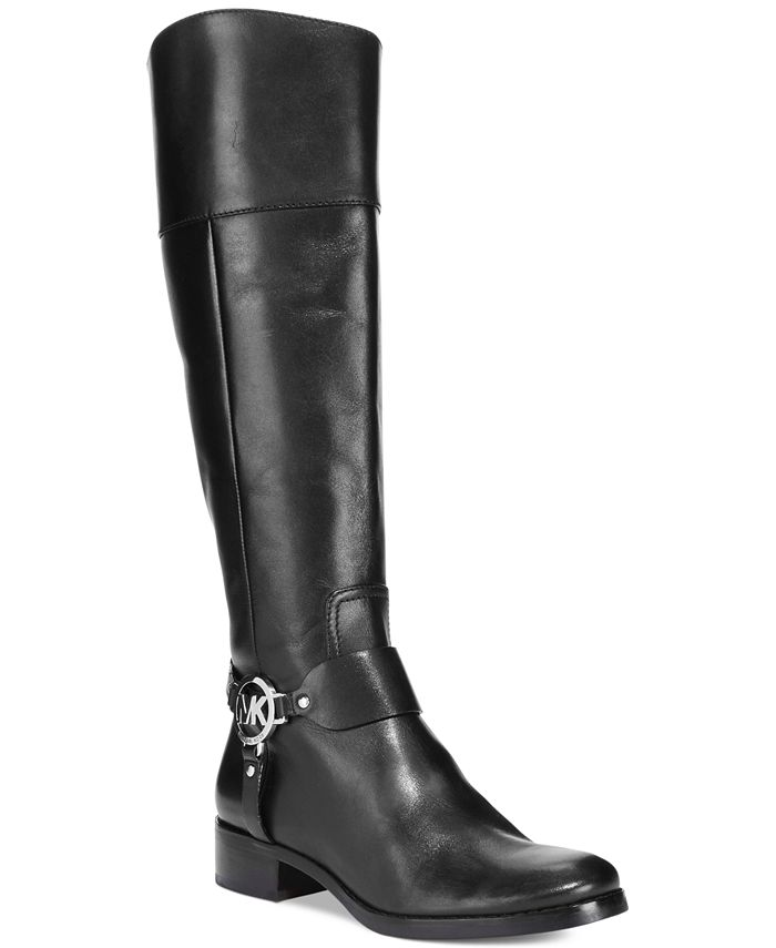 Michael Kors - Fulton Harness Tall Riding Boots