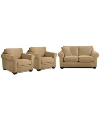 Remo Fabric Sofa Furniture Macy S