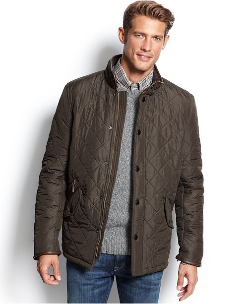 barbour quilted vest mens