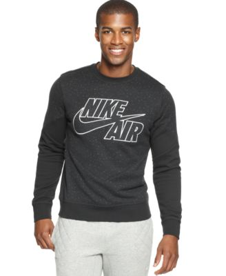 Nike Colorblocked Splatter Fleece Pullover - Hoodies & Fleece ...
