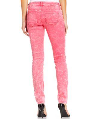Celebrity pink jeans skinny khaki wash
