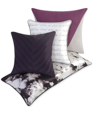 vince camuto home provence european sham - bedding collections