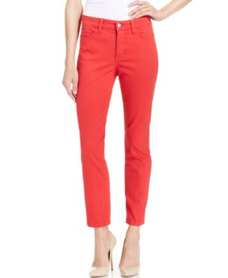 NYDJ Petite Lorena Cuffed Capri Jeans, Hayburn Wash - Jeans ...