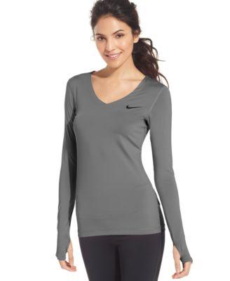 096ea22b Nike Long Sleeve V Neck
