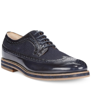 Armani Jeans Oxford Lace-Up Shoes Mens Shoes