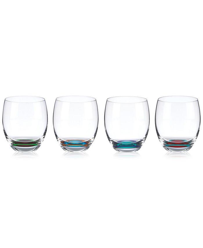 DKNY Lenox - DKNY Urban Essentials Barware Set of 4 Stemless Glasses