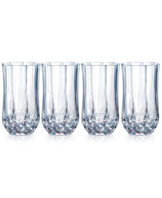 Longchamp Glassware, Set of 4 Diamax Highball Glasses