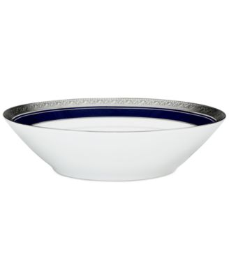 "Noritake ""Crestwood Cobalt Platinum"" Soup Bowl"
