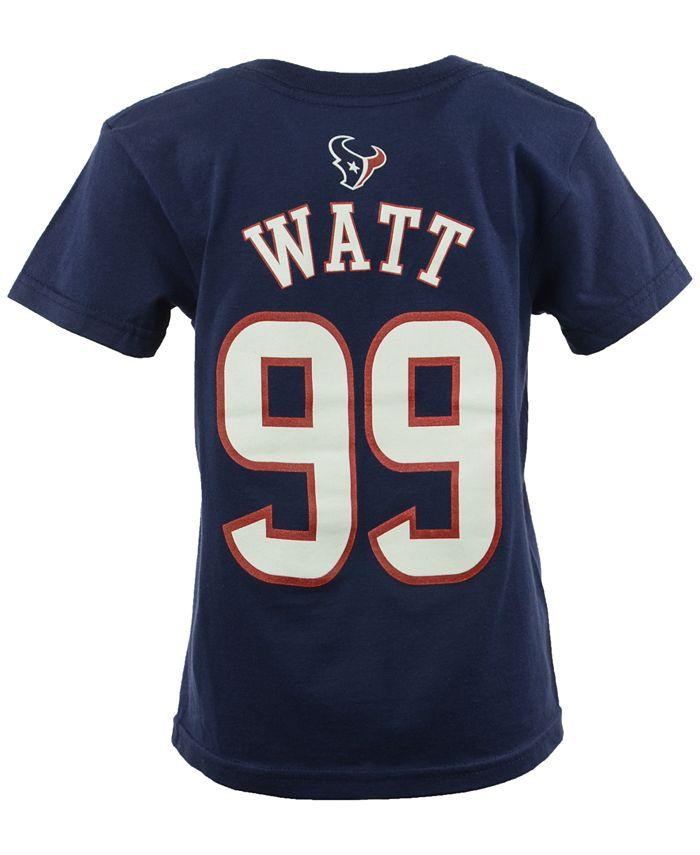 Outerstuff - Toddler Boys' J.J. Watt Houston Texans Mainliner Player T-Shirt