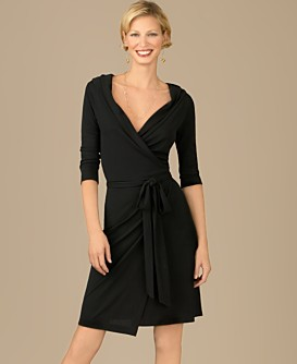 Macy*s - Women's - Kenneth Cole REACTION Shawl-Collar Wrap Dress
