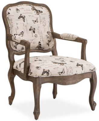 Mackensie Fabric Butterfly Accent Chair, Direct Ships For Just $9.95