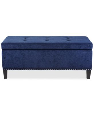 JLA Catarina Fabric Storage Bench, Direct Ships For Just $9.95