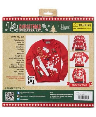 Retrofit Ugly Christmas Sweater Kit - Sweaters - Men - Macy's