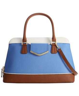 Calvin Klein Saffiano Winged Tote Handbags Amp Accessories