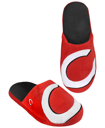 Mens Slippers Forever Collectibles Mens Cincinnati Reds Big Logo Slippers Slippers On Sale Store