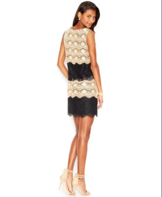 Jessica Simpson Tiered Lace Cocktail Dress - Dresses - Women - Macy's