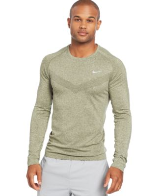 Nike Long Sleeve Dri FIT Performance T Shirt