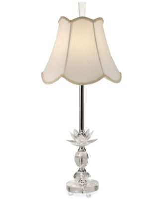 Marvelous Dale Tiffany Abby Crystal Buffet Table Lamp