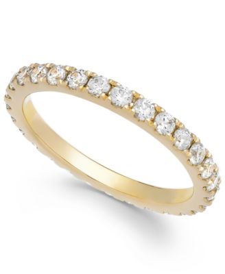 Arabella Swarovski Zirconia Ring in 14k White Gold Only at Macys